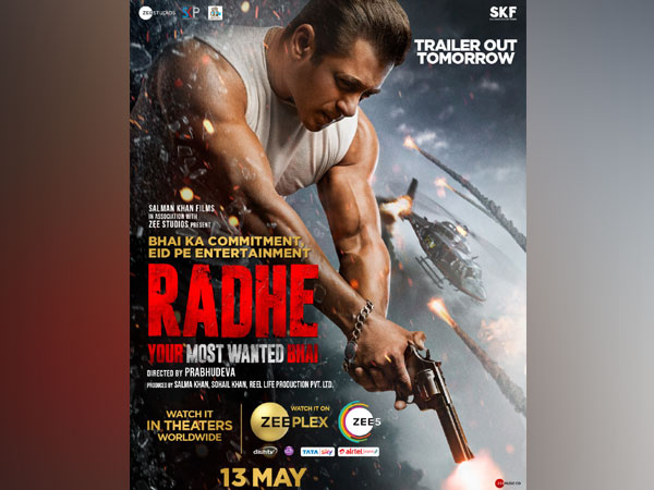 Salman Khan's 'Radhe' confirmed for multiple platforms release on Eid, trailer to unveil tomorrow