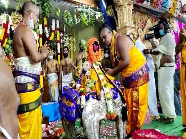 Kalyanotsavam of Lord Ram takes place in Bhadrachalam without devotees
