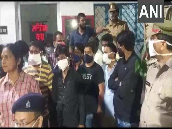 28 gamblers held in UP's Janki Puram, cash, vehicles seized
