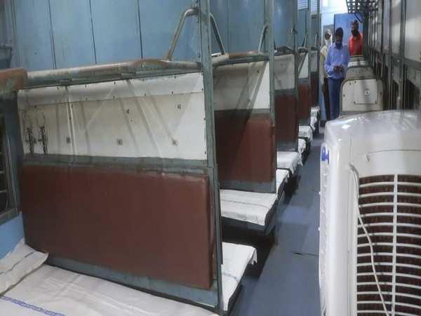 Railways converted 4,002 train coaches as COVID-19 care-cum-isolation facility