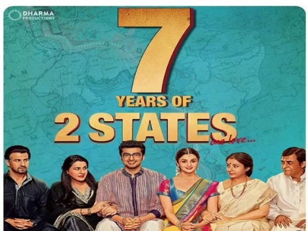 Arjun Kapoor weighs on importance of love as his movie '2 states' clocks 7 years