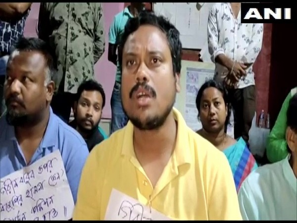 WB: TMC worker accuses BJP of attacking its candidate from Mathabhanga