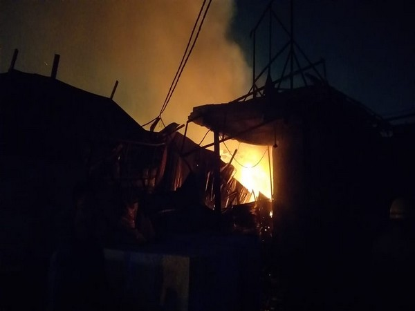 Fire breaks out in furniture market at Delhi's Shastri Park, 8 rescued