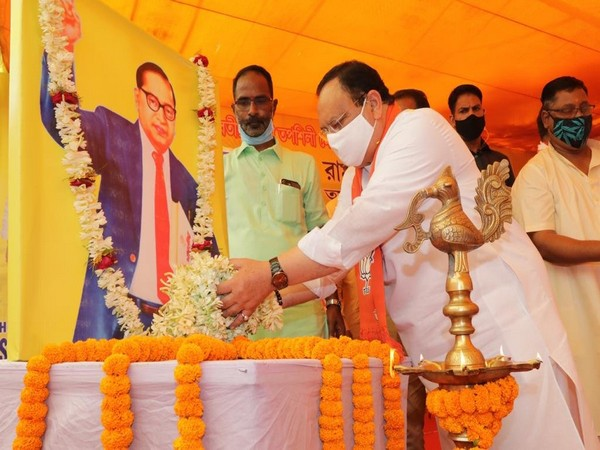 BJP chief JP Nadda pays tribute to BR Ambedkar on his 130th birth anniversary