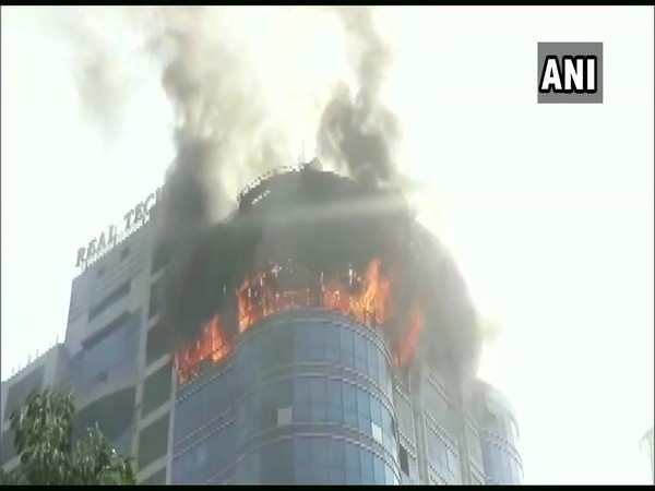 Fire breaks out at Mumbai's Vashi area multi-storey building