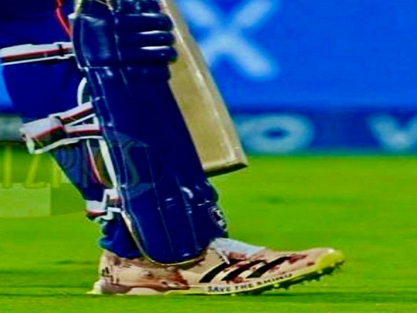 IPL 2021: Rohit bats for noble cause with 'Save the Rhino' message on his shoes