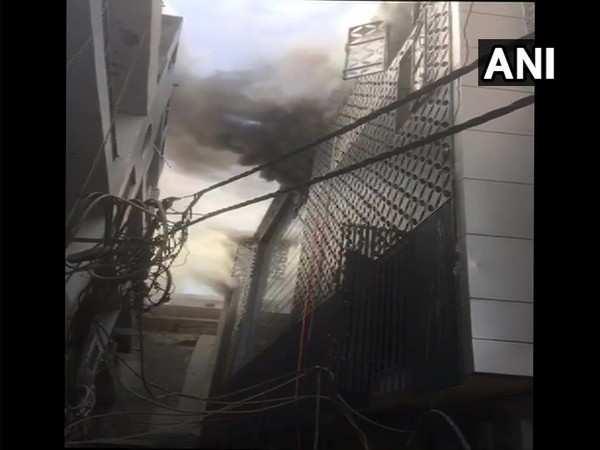 Fire breaks out in factory near Delhi's Damodar Park