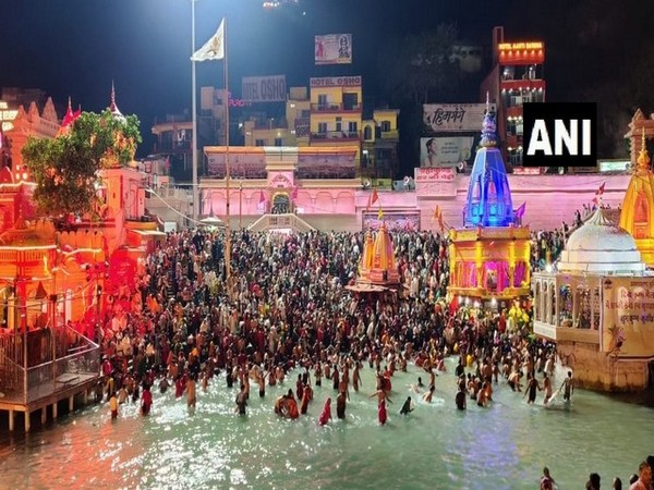 Kumbh 2021: All 13 akharas participated in third 'Shahi Snan' in Haridwar first time since 1974