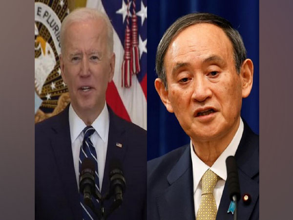 Suga, Biden to discuss worsening human rights situation in China