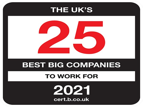 TCS named as Best Big Company to work for in the UK
