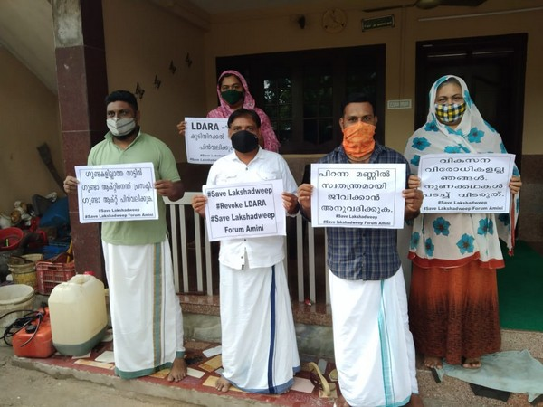 Lakshadweep crisis: Residents sit on a 12-hour hunger strike