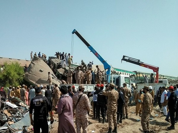 Death toll from train collision in Pakistan's Sindh reaches 62