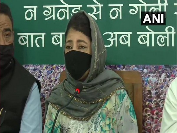 Witch-hunting, criminalisation of dissent taking country back, says Mehbooba Mufti