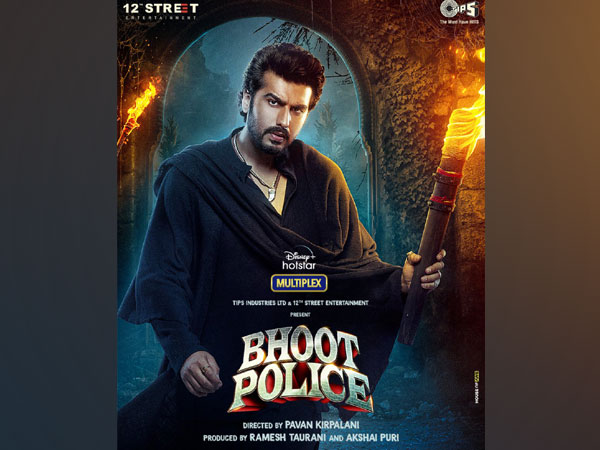 Meet Arjun Kapoor's Chiraunji from 'Bhoot Police'