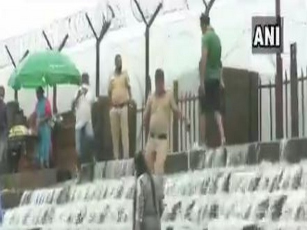 Maharashtra: Police deployed at picnic spots to ensure adherence to COVID guidelines amid tourist influx in Lonavla
