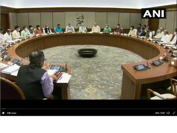 PM Modi chairs first in-person Union Cabinet meet in over a year