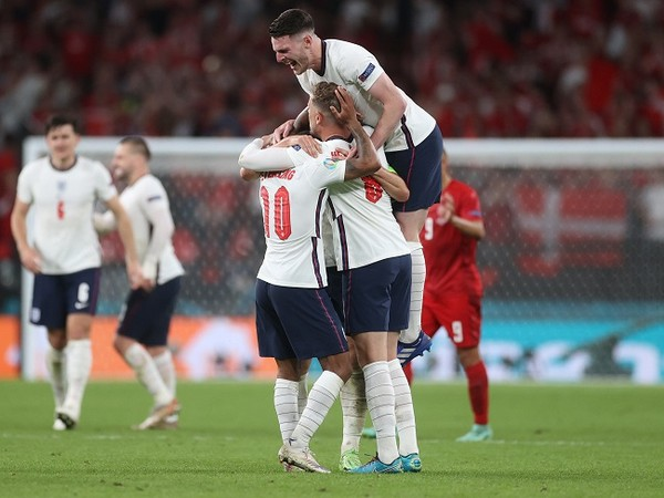 Harry Kane's extra-time goal fires England into Euro Cup final with 2-1 win over Denmark