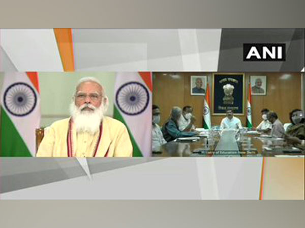 Day after Cabinet reshuffle, PM Modi begins work with new ministers