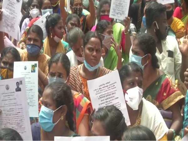 Nurses in Chennai hold protest, demand govt jobs