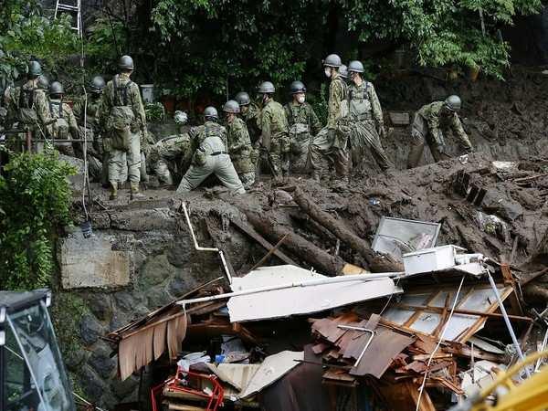 Japan: 80 people still unaccounted in Atami mudslides