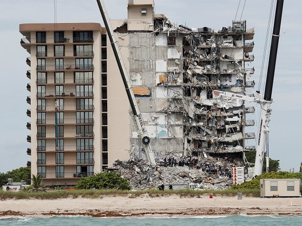Partially collapsed Florida condo to be demolished