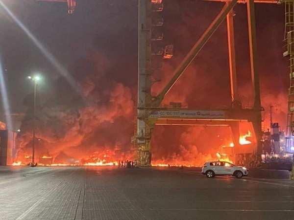 Big explosion heard at Dubai's Jebel Ali port, cause unknown