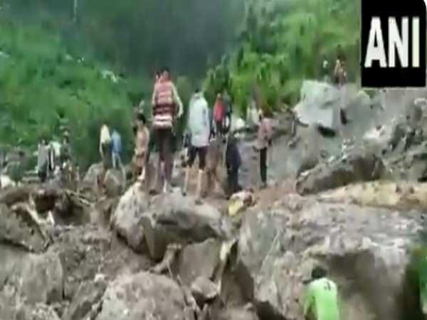 Rescue operations underway in Himachal's Kangra after landslides, floods