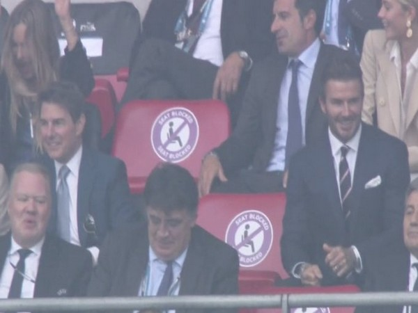 Euro 2020 final: David Beckham, Tom Cruise in attendance at Wembley