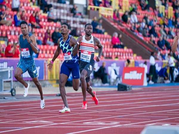 Trayvon Bromell wins 100m in Gateshead ahead of Tokyo Olympics