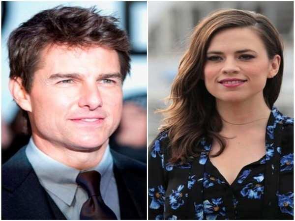 Tom Cruise hits Wimbledon with rumored girlfriend Hayley Atwell