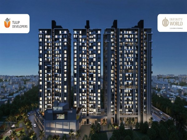 The launch of next-generation 3 & 4 BHK Flats at Infinity World, Punawale by the Tulip Group