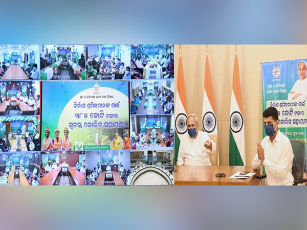 Odisha CM disburses Rs 385 cr COVID assistance to 26 lakh registered construction workers