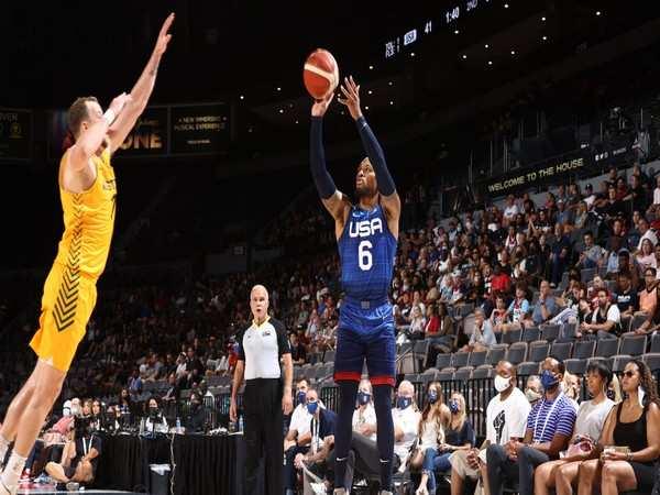 Team USA falls to Australia in pre-Tokyo exhibition match