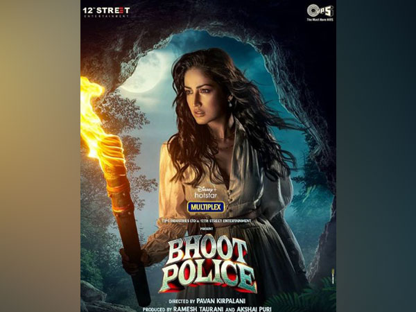 Yami Gautam unveils her first look from 'Bhoot Police'