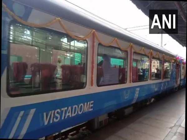 Karnataka's first train with two Vistadome coaches arrives in Bengaluru
