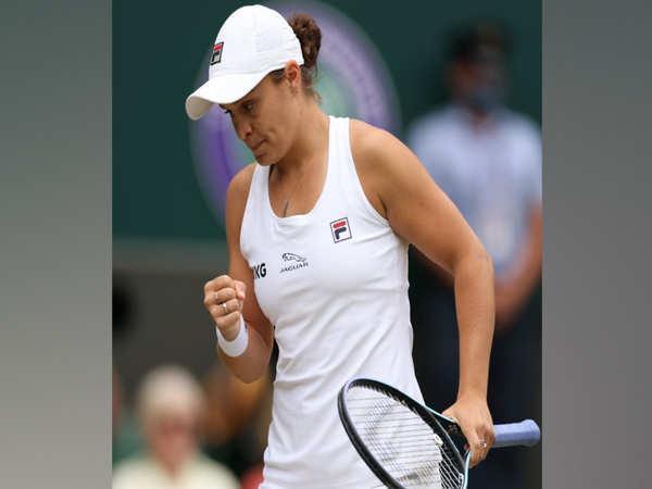 Barty defeats Pliskova, wins maiden Wimbledon women's title