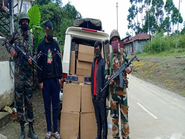 Assam Rifles apprehends two with contraband worth Rs 39 lakhs in Mizoram
