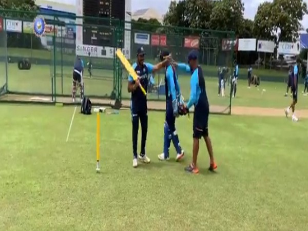 Dhawan-led Indian squad gets into 'groove' for Sri Lanka series