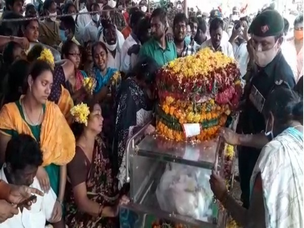 Body of Andhra jawan who died in J-K counter insurgency operation reaches his native village