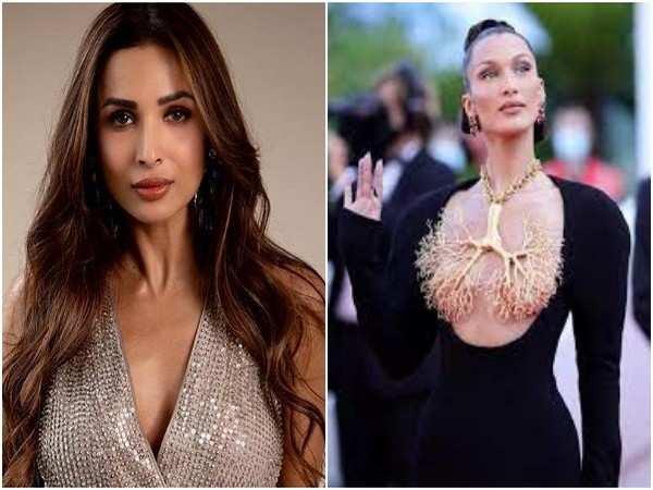 Malaika Arora fangirls over Bella Hadid's Cannes look