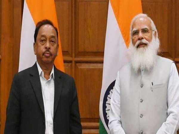Narayan Rane takes charge as new MSME Minister
