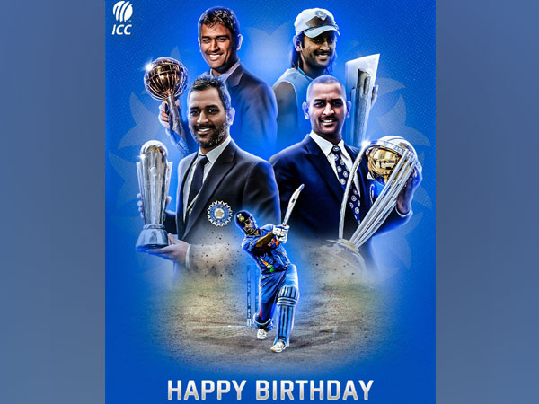 Wishes pour in for MS Dhoni as 'Captain cool' turns 40