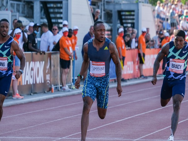 SA's Akani Simbine breaks African 100m record in Hungary