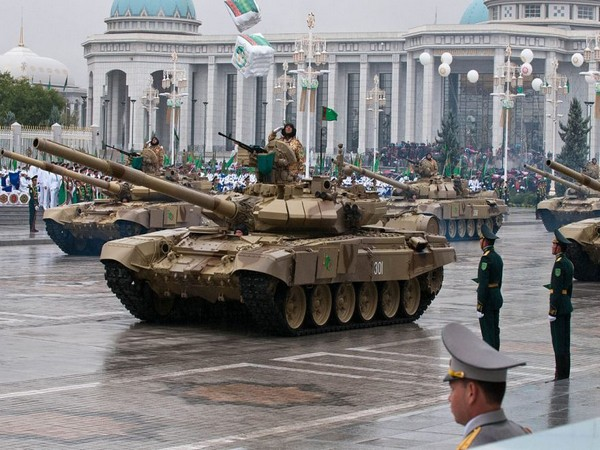 Turkmenistan deploys troops on border with Afghanistan