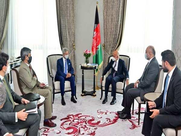 Jaishankar discusses Afghanistan situation with Ashraf Ghani