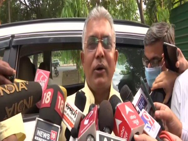 Dilip Ghosh meets Nadda, says all issues should be discussed within party