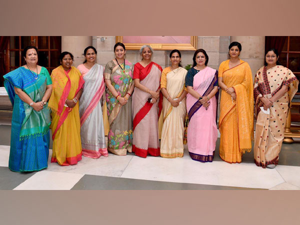 Cabinet expansion: Women ministers in PM Modi's team don handloom sarees, reflect India's sartorial diversity