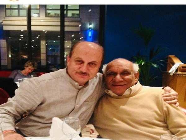 Yash Chopra ji was a treasure trove of poetry, friendship, says Anupam Kher
