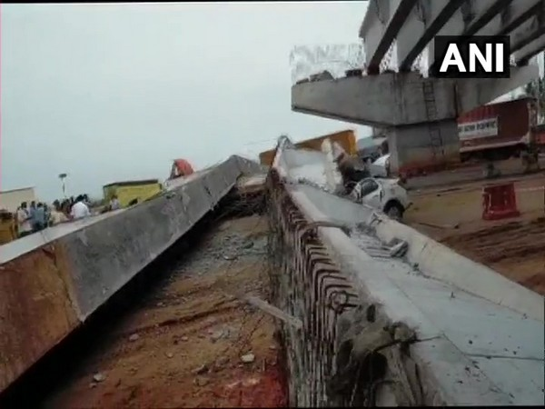 2 die as under-construction flyover collapses in Visakhapatnam
