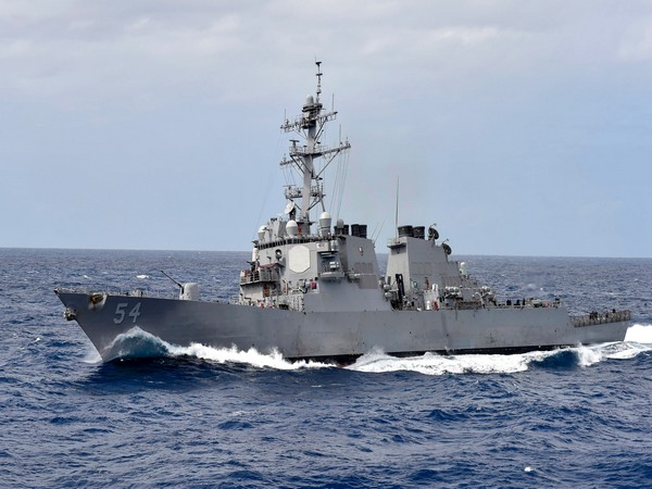 Chinese, US Navy vessels spotted off the east coast of Taiwan